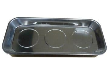 """MAGNETIC 14"""" LARGE TRAY 358mm x 158mm mechanic auto parts holder tray dish"""